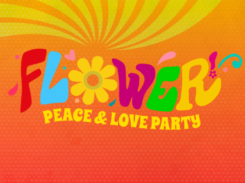 Flower Peace & Love Party
