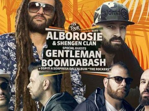 Alborosie + Gentleman + Boomdabash