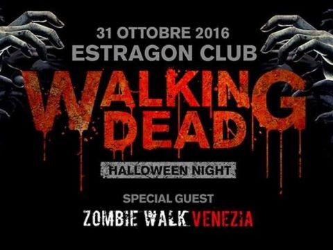 Walking Dead Halloween night