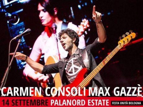 Carmen Consoli & Max Gazzè @ Fest'Unità Bologna